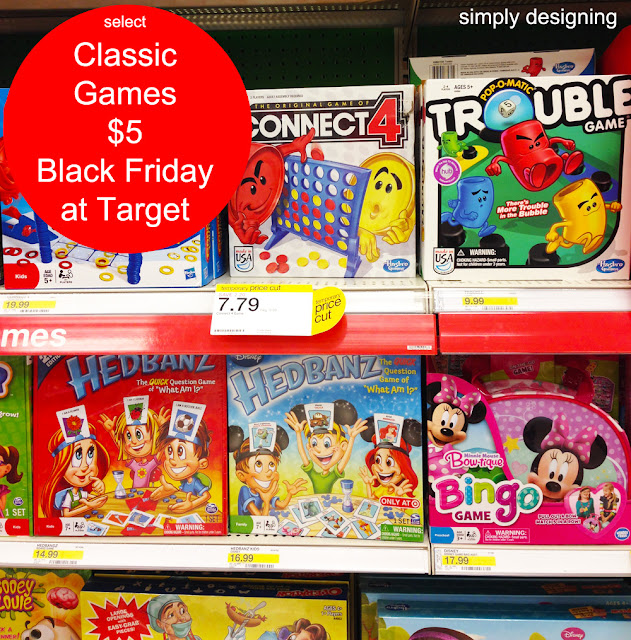 Classic Board Games Black Friday Deals at Target #MyKindofHoliday
