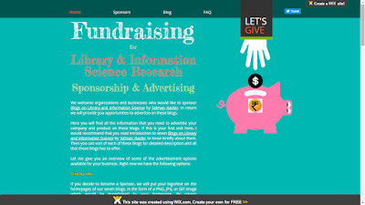 Fundraising for Library & Information Science Research