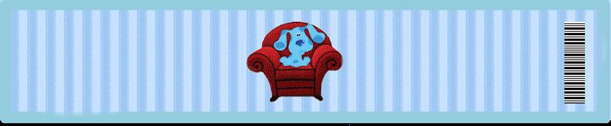 Lindo Kit para Fiestas de Blue Clues para Imprimir Gratis.