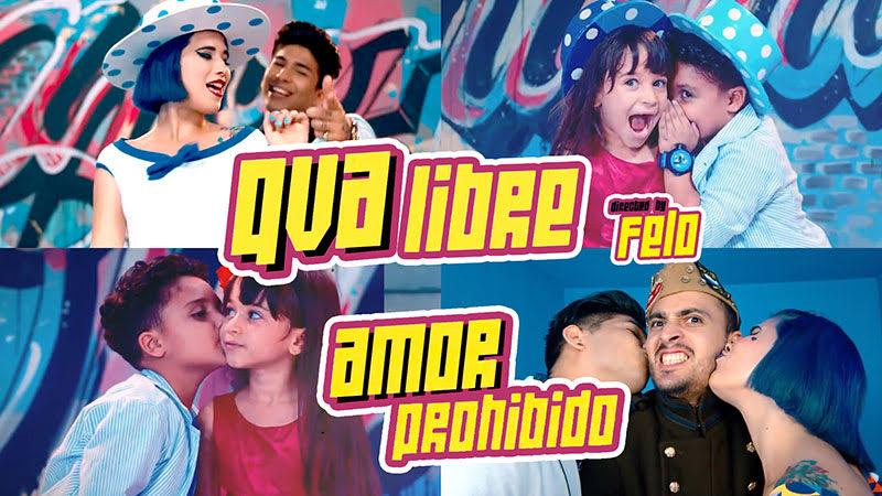 Qva Libre - ¨Amor Prohibido¨ - Videoclip - Director: Felo. Portal Del Vídeo Clip Cubano