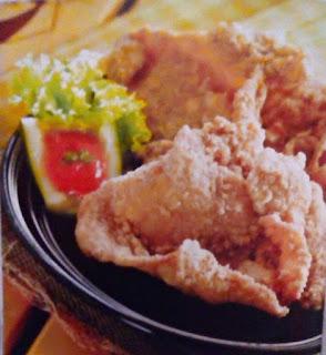 Gambar Resep Kulit Ayam Krispi