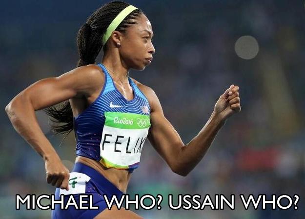 Allyson Felix Rio 2016 meme