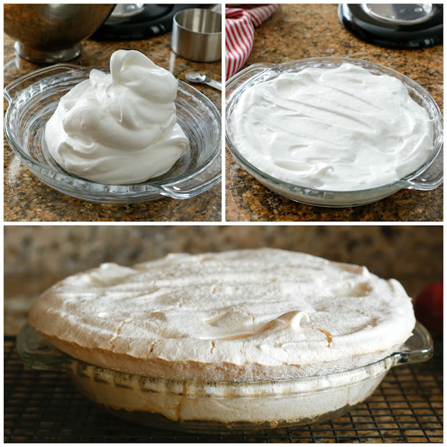 Tips for making a Meringue Pie Crust! (It's crazy easy!!) recipe at barefeetinthekitchen.com