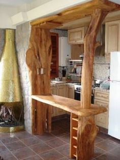 30 inspiring diy reclaimed woodworking interior furniture - Como decorar una cocina rustica ...
