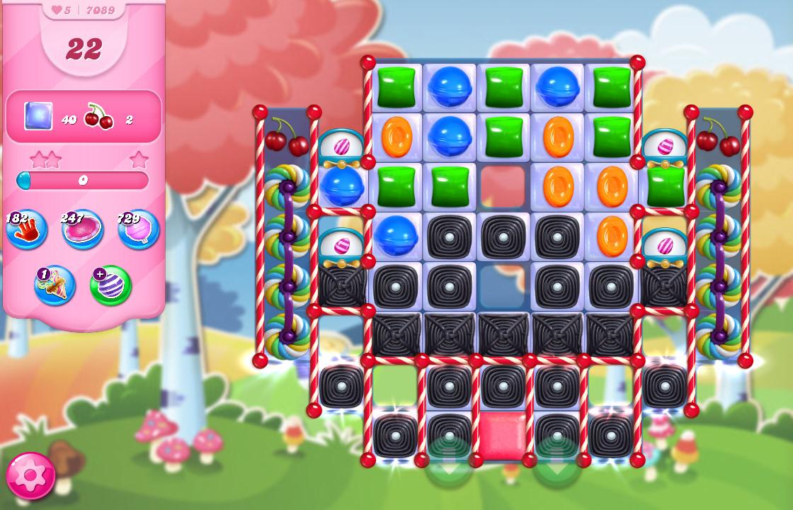 Candy Crush Saga level 7089