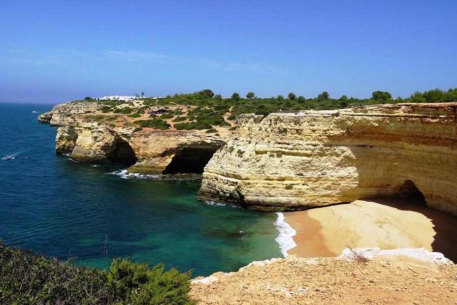 Benagil Sea Caves, Portugal -  The Most Impressive Sea Caves In Europe