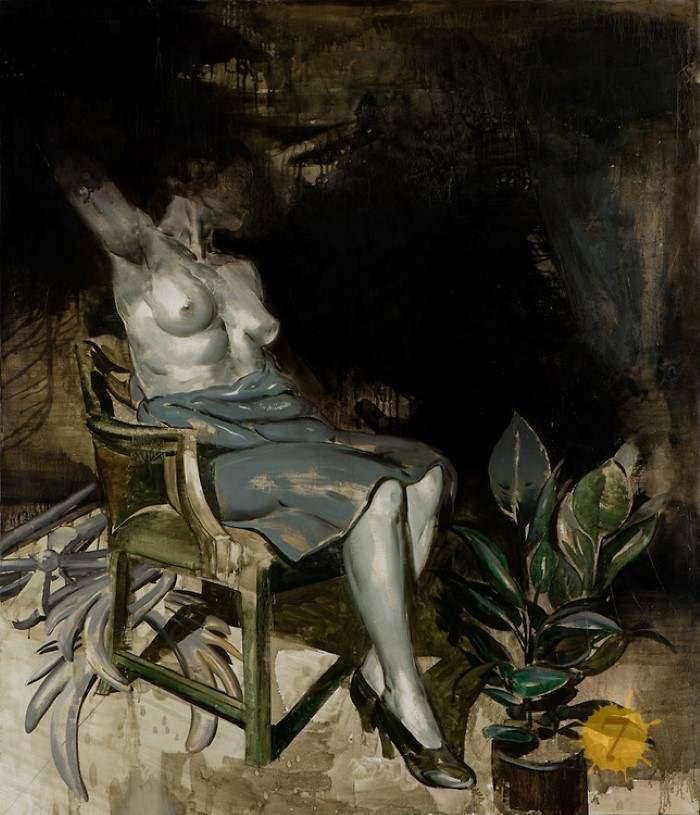 Польский художник. Jan Szczepkowski