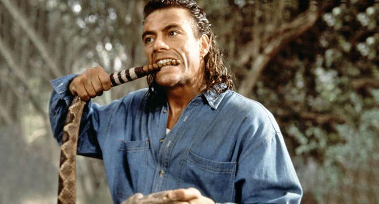 Jean-Claude Van Damme in HARD TARGET (John Woo, 1993). Quelle: Universal Pictures