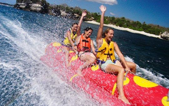 Harga permainan watersport Paling murah di Bali