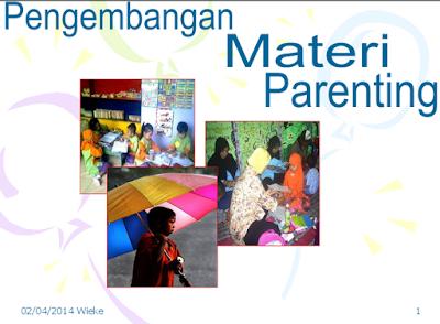 Pengembangan Materi Parenting Education PAUD Lengkap Terbaru
