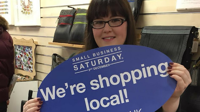 Why I Love Shopping Local. Small Business Saturday