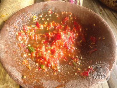 Vidio : Cara membuat sambal goang Sunda