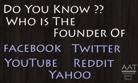Founder Of Facebook Twitter Reddit And Other Popular Platforms