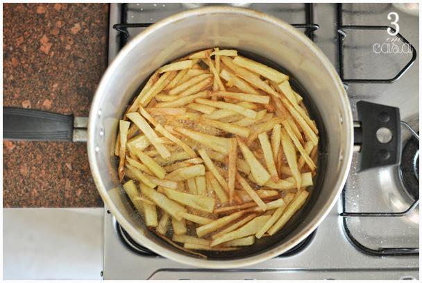batata frita crocante como fazer