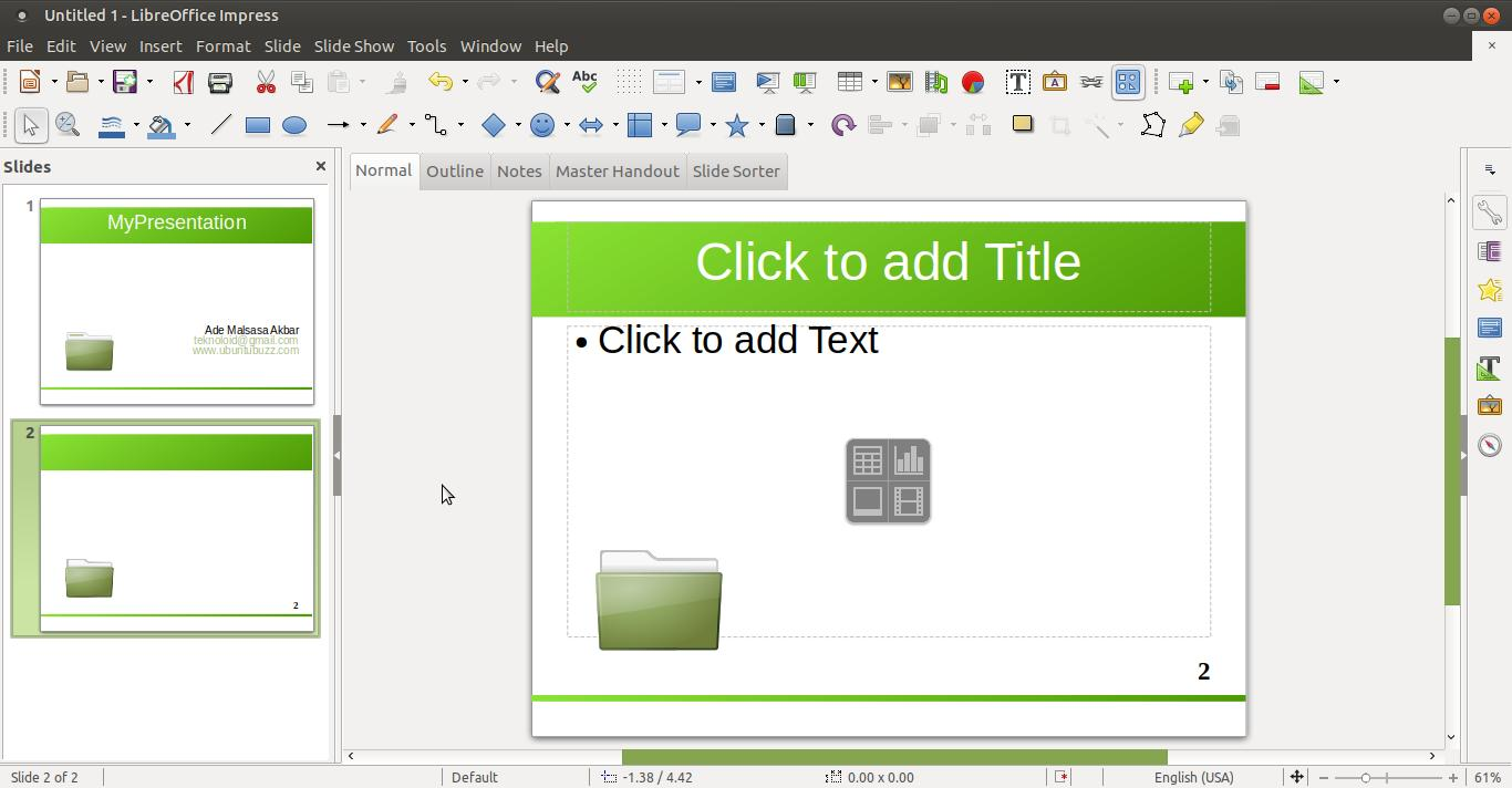 save slide master as template - libreoffice impress custom default template