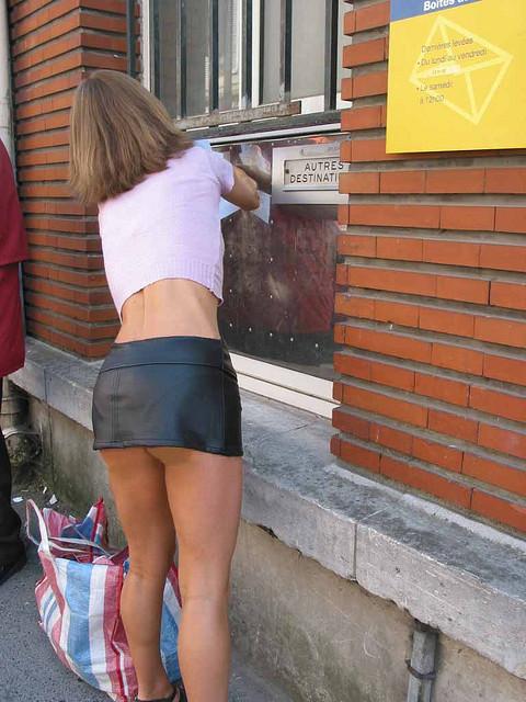 Nude mini skirts mature