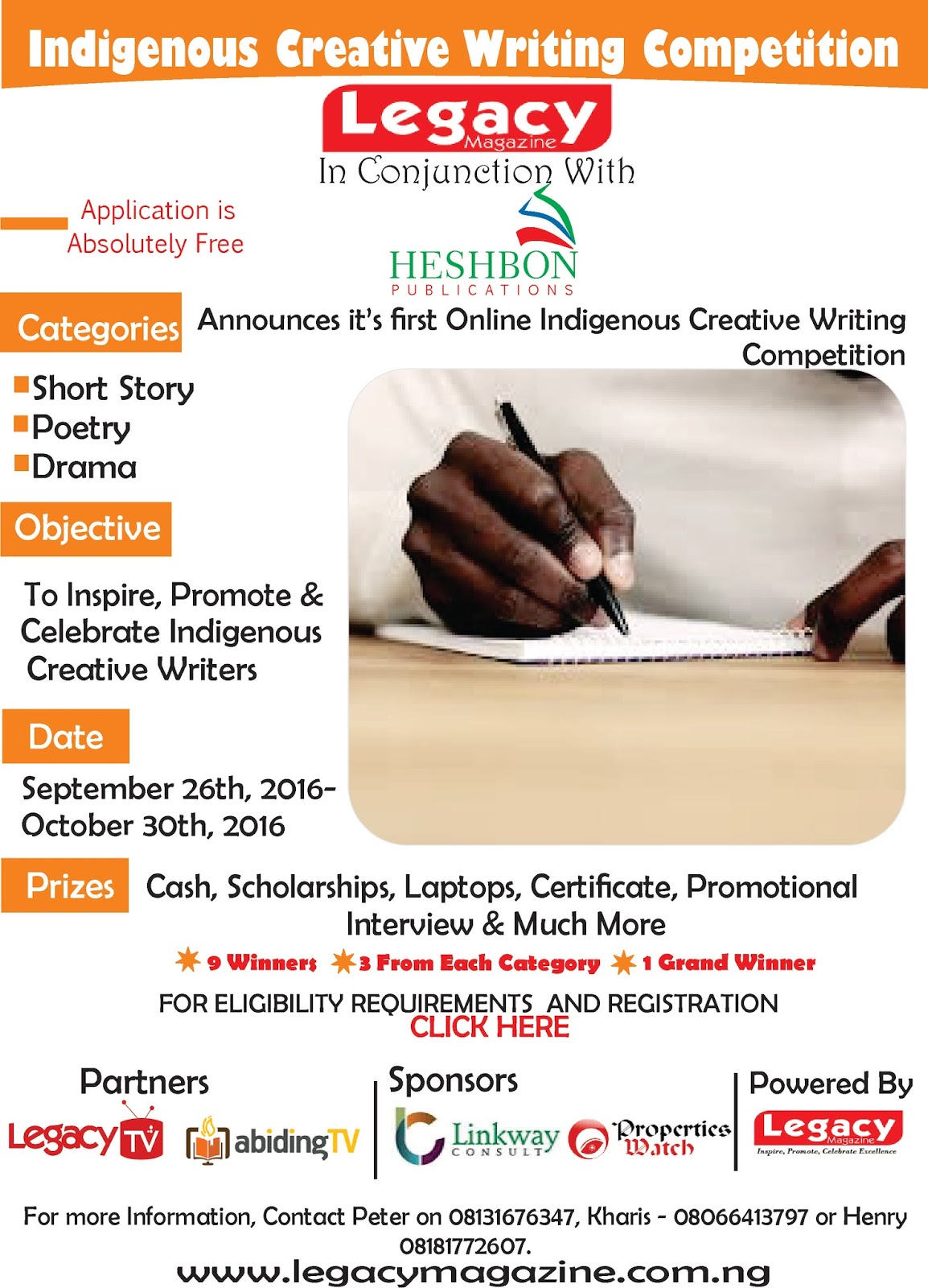 Indigenous Creative Writing Competition