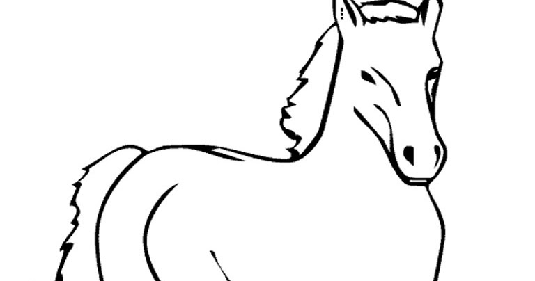Realistic Coloring Pages Of Horses