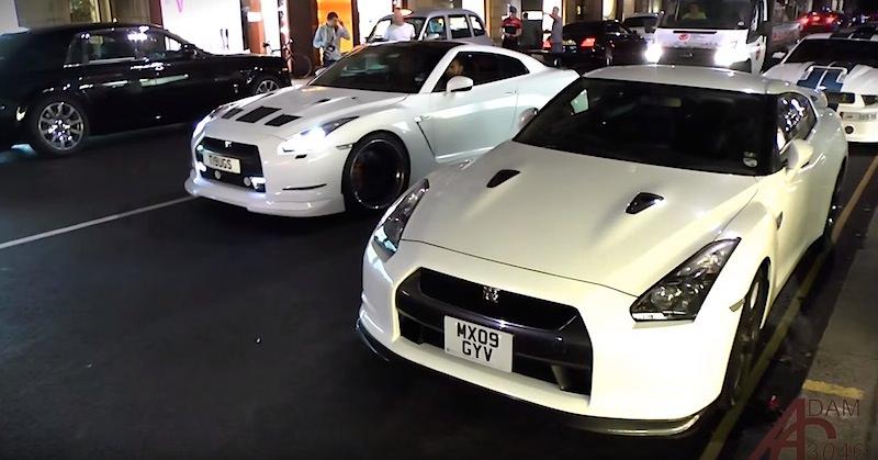 世界の日産GT-Rの個性的なカスタ...