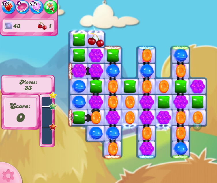 Candy Crush Saga level 2699