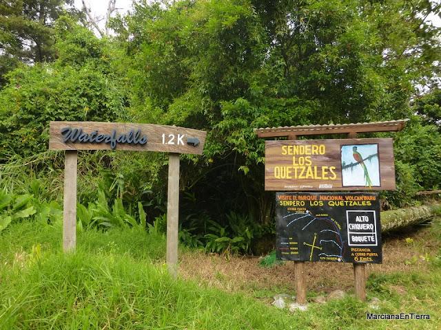 Sendero los Quetzales, Bajo Mono, Panamá
