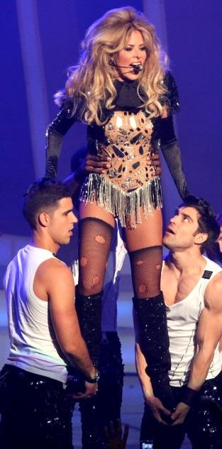 Foto de Gloria Trevi en concierto