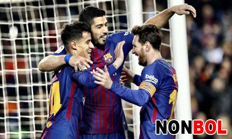 Cuplikan Gol Barcelona 6-1 Girona | LaLiga BBVA Pekan 25