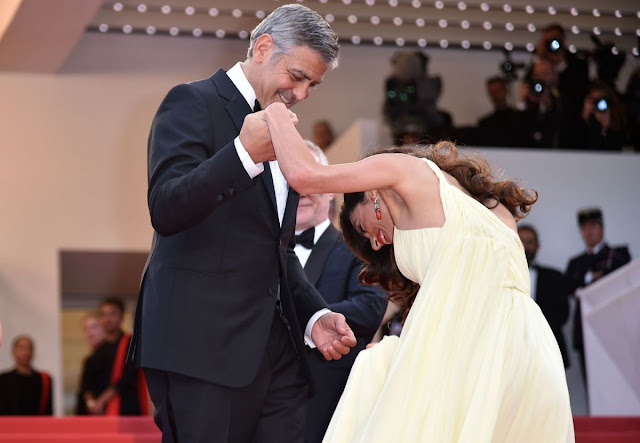 Amal Alamuddin & George Clooney at 'Money Monster' Premiere at 69th Annual Cannes Film Festival