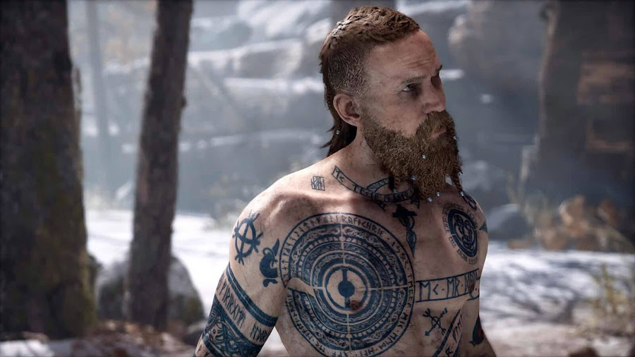 god of war playstation 4 baldur