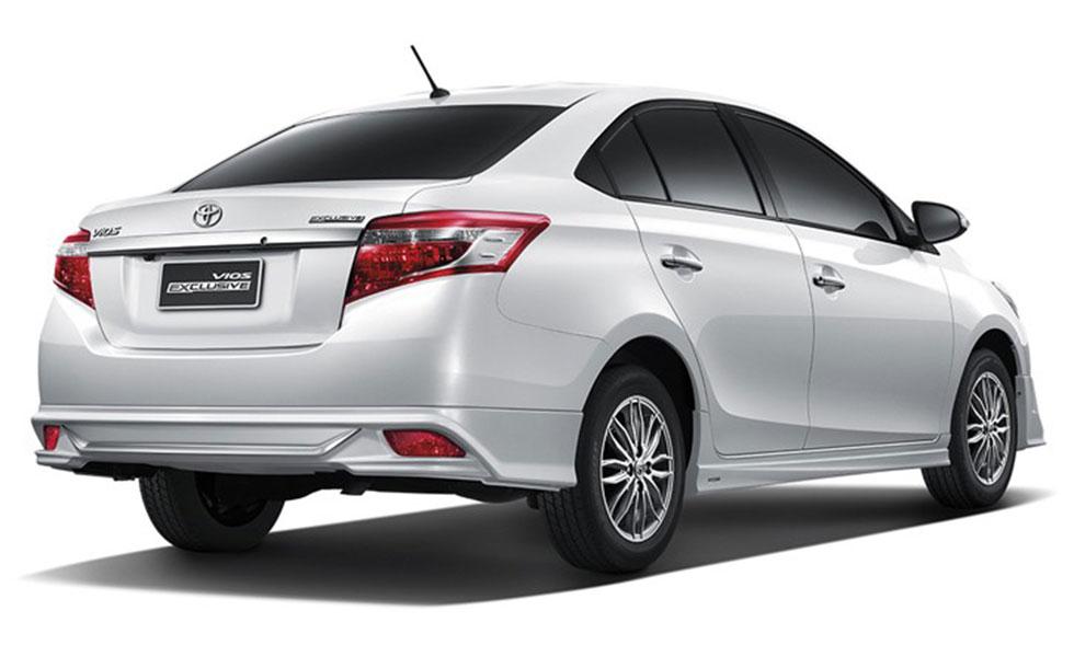 2016 Toyota Vios Rear