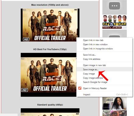 YouTube Video Thumbnail Download Kaise Kare