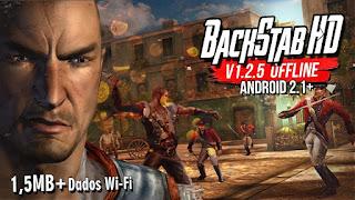تحميل لعبة BACKSTAB HD بدون obb و بدون انترنت للاندرويد (داتا واي فاي)