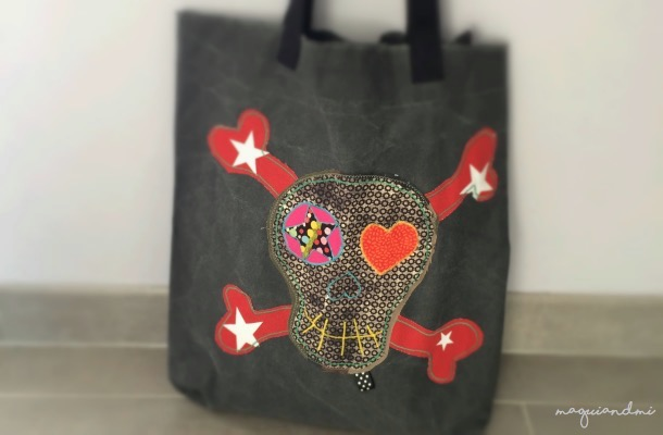 DIY. CREA UNA TOTE BAG PIRATA EN 5 PASOS (sesión remember)