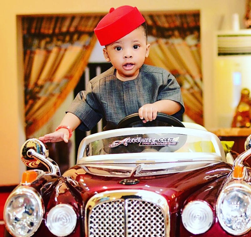 Femi Fani-Kayode shares adorable photo of Aragorn as he clocks a year old