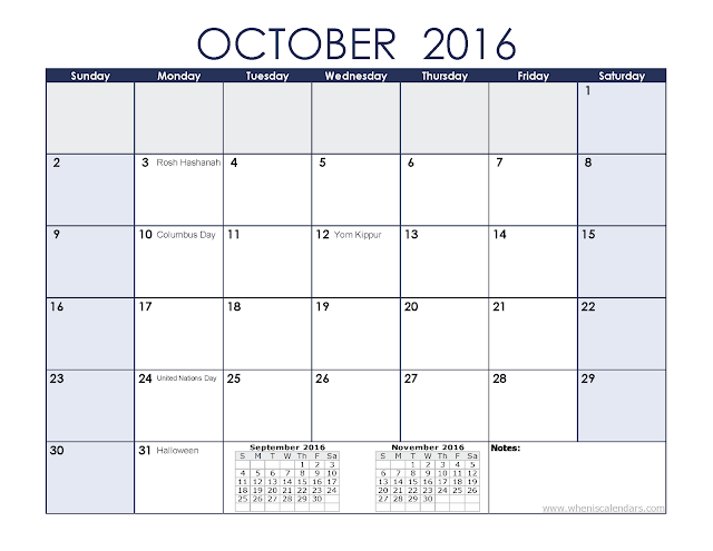 October-2016-Printable-Calendar-Templates