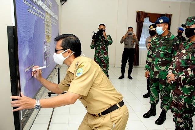Pencanangan Pembangunan Zona Integritas Lanud Suryadarma
