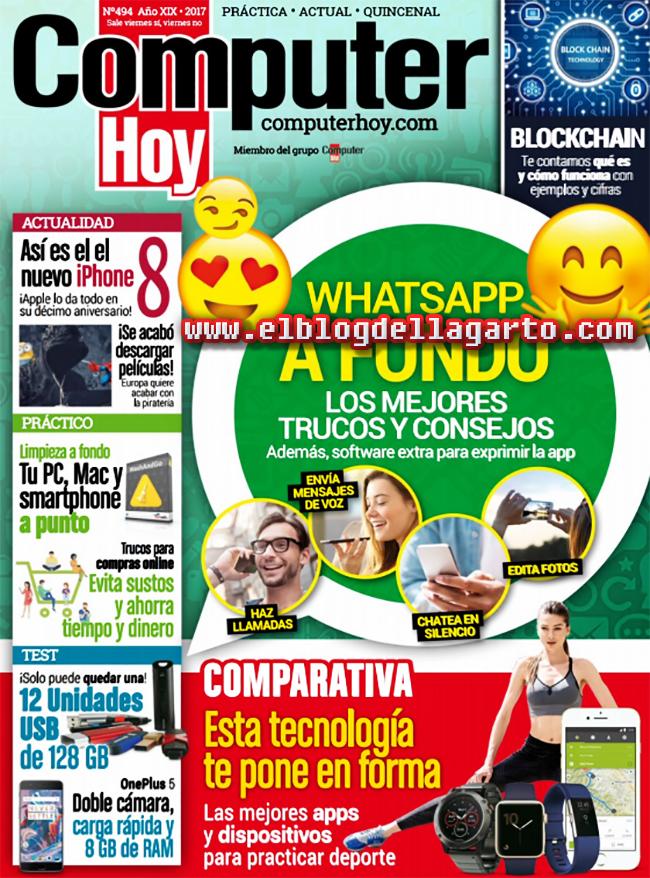 Computer Hoy - N° 494 / 08 Septiembre 2017 - Whatsapp