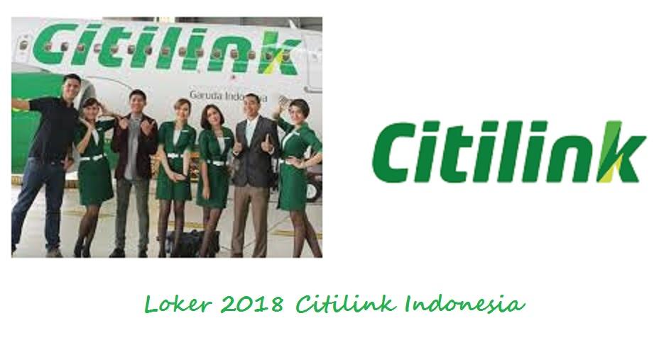 Loker PT Citilink Indonesia Tahun 2018