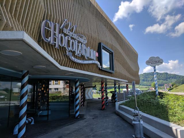 Шоколадная фабрика Maestrani's Chocolarium