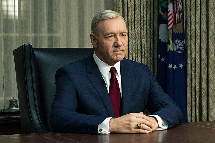 El implacable Frank Underwood (Kevin Spacey) en la oficina oval