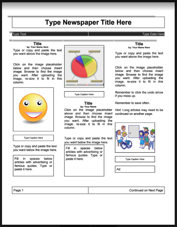 6 Of The Best Web Tools To Create Class Newspapers Educational Technology And Mobile Learning