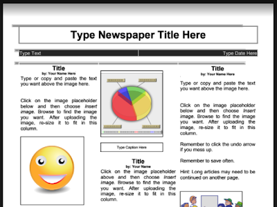 6 of The Best Web Tools to Create Class Newspapers