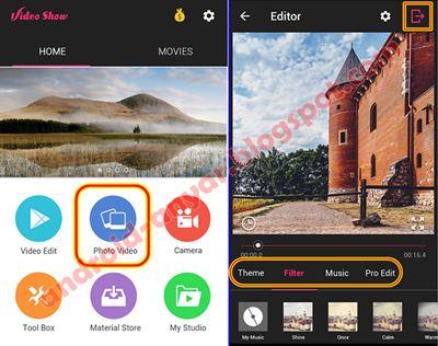 Cara Menggabungkan Foto dan Lagu MP3 Menjadi Video di Android