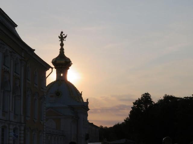 Palácio Peterhof.