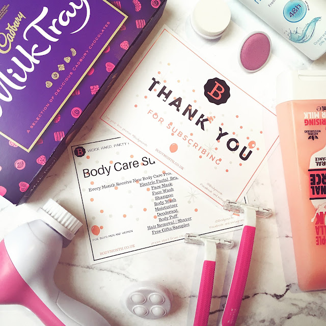 Lovelaughslipstick Blog BodyMonth Beauty Subscription Service Box Review