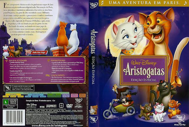 Capa DVD Aristogatas