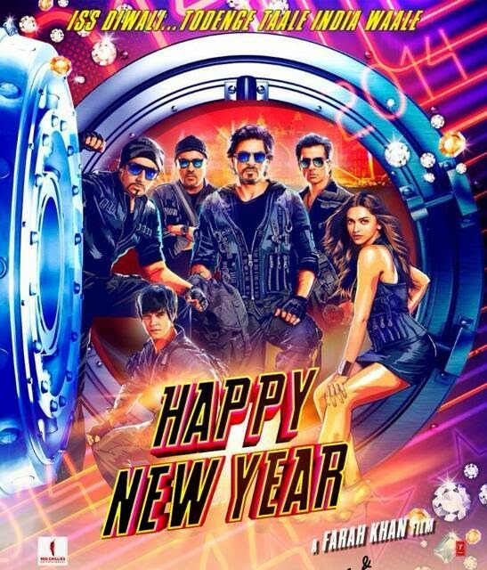 Happy New Year 2014 Hindi DVDScr 800mb MP3 New Source Mafiaking