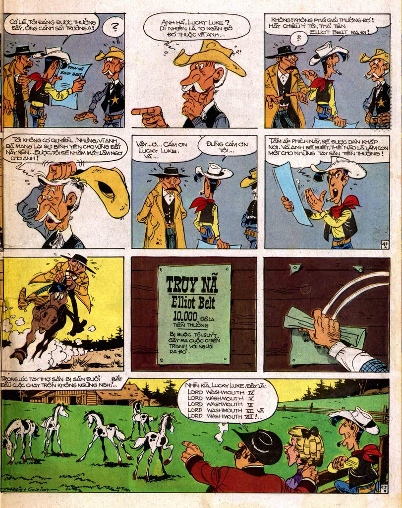 Lucky Luke tap 2 - ke san tien thuong trang 43