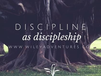 BFBN Week {Discipline}: Discipline As Discipleship