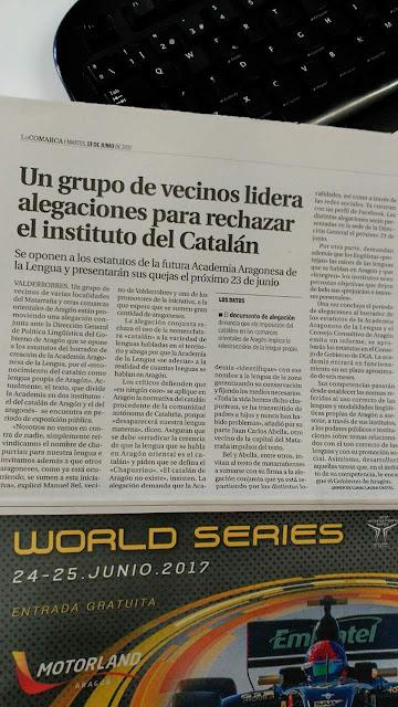 Un grupo de vecinos lidera alegaciones para rechazar el instituto del catalán